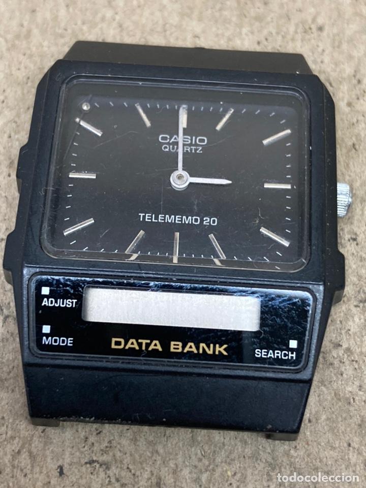 RELOJ CASIO QUARTZ TELEMEMO PARA PIEZAS (Relojes - Relojes Actuales - Casio)