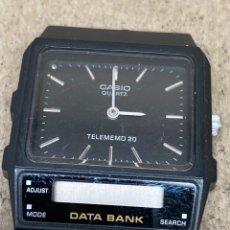 Relojes - Casio: RELOJ CASIO QUARTZ TELEMEMO PARA PIEZAS. Lote 226965290