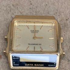 Relojes - Casio: RELOJ CASIO AB 100 QUARTZ TELEMEMO 20 PARA PIEZAS. Lote 226965665