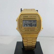 Relojes - Casio: CASIO A-168 MODULO 3298. Lote 227196690