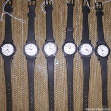 Relojes - Casio: LOTE DE 6 RELOJES CASI A ESTRENAR, SOLO LE FALTA CAMBIARLE PILA. DE RESTO DE JOYERIA. Lote 227204700
