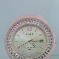 Relojes - Casio: RELOJ CASIO SRA. LX-500 ROSA ACUATICO 50M.. Lote 227204805