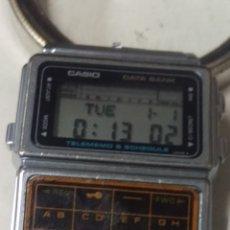 Relojes - Casio: RELOJ CASIO VINTAGE DATA BANK . FUNCIONANDO. Lote 227475630