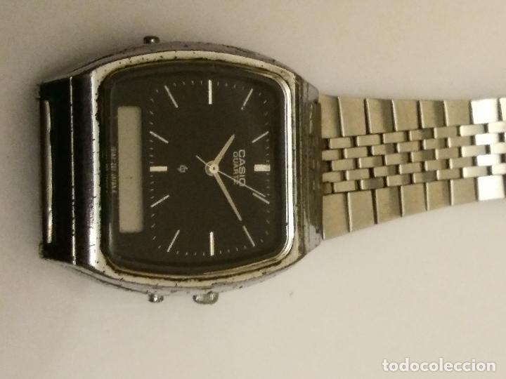 Relojes - Casio: Vintage Casio AQ-321 Module 309 ANALOGIC & Digital Chronograph Watch - Foto 2 - 229353175
