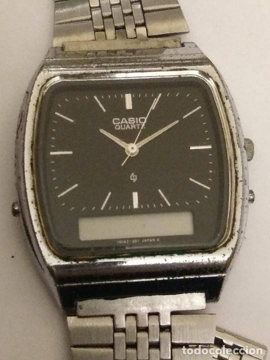 VINTAGE CASIO AQ-321 MODULE 309 ANALOGIC & DIGITAL CHRONOGRAPH WATCH (Relojes - Relojes Actuales - Casio)