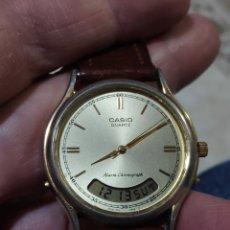Relojes - Casio: PRECIOSO RELOJ CASIO FUNCIONANDO. Lote 229892250