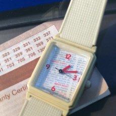 Relojes - Casio: RELOJ CASIO DE SRTA. LQ 63 - JAPAN - ¡¡ VINTAGE AÑOS 80 !! ¡¡NUEVO!! (VER FOTOS). Lote 232202350