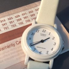Relojes - Casio: RELOJ CASIO DE SRTA. LQ 111 B ¡¡ VINTAGE AÑOS 90 !! ¡¡NUEVO!! (VER FOTOS). Lote 232215480