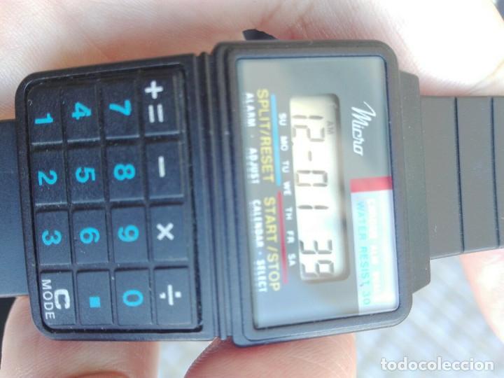 Relojes - Casio: PERFECTO reloj calculadora de 1986 vintage NEW OLD STOCK - Foto 2 - 234045100