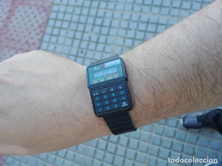 PERFECTO RELOJ CALCULADORA DE 1986 VINTAGE NEW OLD STOCK (Relojes - Relojes Actuales - Casio)