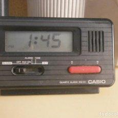 Relojes - Casio: RELOJ DESPERTADOR CASIO AÑOS 80 MOD DQ 541 FUNCIONANDO - SIN GARANTÍAS. Lote 234486830