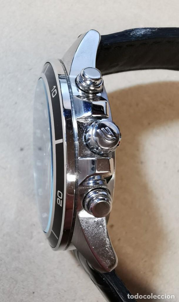 Relojes - Casio: RELOJ CASIO EDIFICE INOX ACERO INOXIDABLE, 10 BAR, CORREA DE CUERO para Hombre Y Mujer. COMO NUEVO - Foto 9 - 234763025