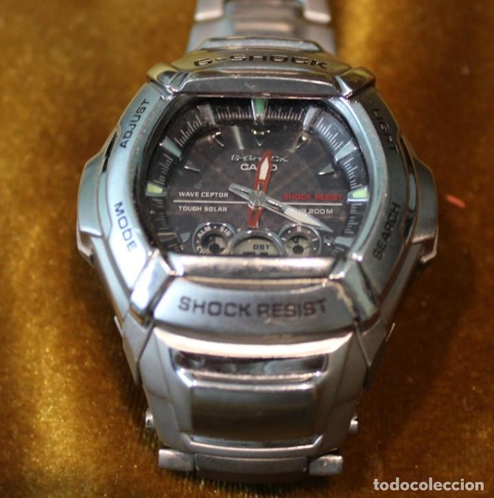 Relojes - Casio: Reloj Casio G-Shock de correa metalica. Reloj Casio G-Shock de correa metalica. - Foto 2 - 234918185