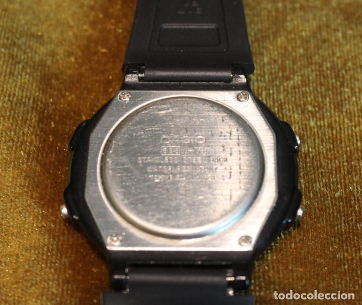 Relojes - Casio: Reloj Casio modelo W76,módulo 593 Ensamblado en Corea. - Foto 3 - 234918810