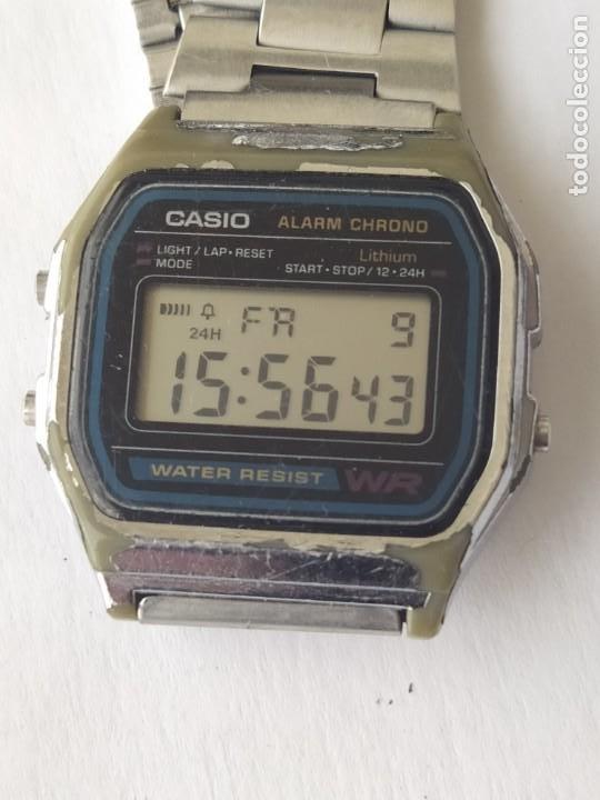 RELOJ CASIO ALARM CRONO WATER RESIST ORIGINAL FUNCIONA PERFECTAMENTE (Relojes - Relojes Actuales - Casio)