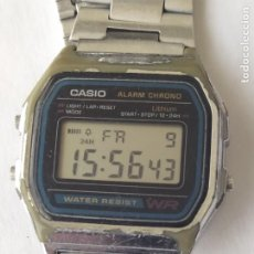 Relojes - Casio: RELOJ CASIO ALARM CRONO WATER RESIST ORIGINAL FUNCIONA PERFECTAMENTE. Lote 235289895