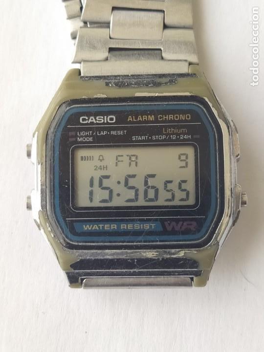 Relojes - Casio: Reloj CASIO ALARM CRONO WATER RESIST ORIGINAL FUNCIONA PERFECTAMENTE - Foto 4 - 235289895