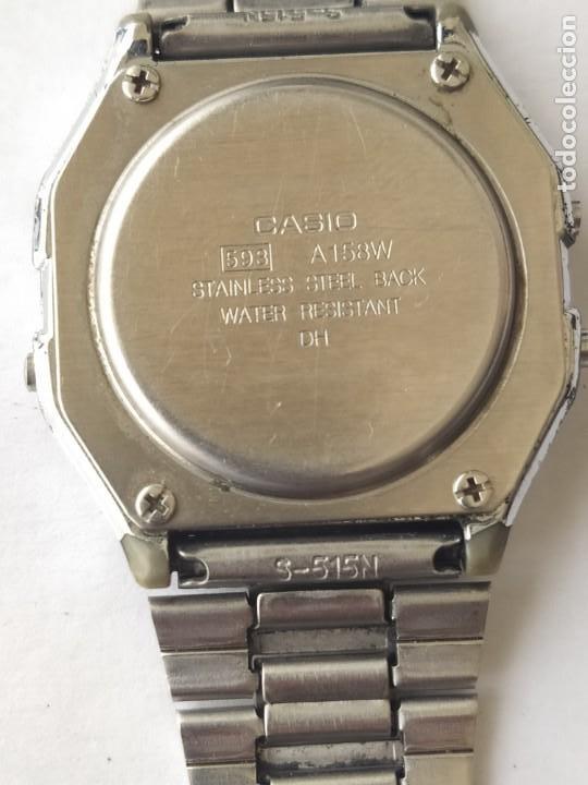 Relojes - Casio: Reloj CASIO ALARM CRONO WATER RESIST ORIGINAL FUNCIONA PERFECTAMENTE - Foto 6 - 235289895