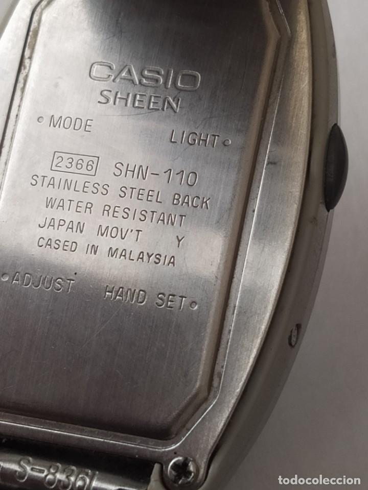 Relojes - Casio: Reloj CASIO SHEEN ILLUMINATOR ORIGINAL - Foto 4 - 235291830