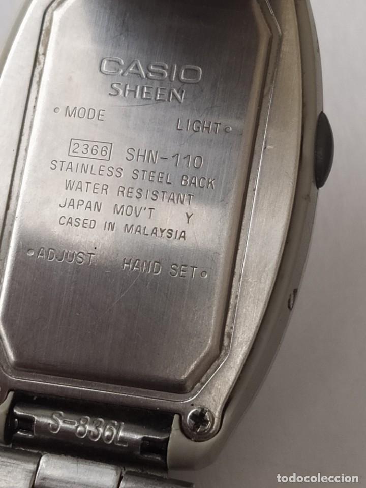 Relojes - Casio: Reloj CASIO SHEEN ILLUMINATOR ORIGINAL - Foto 6 - 235291830