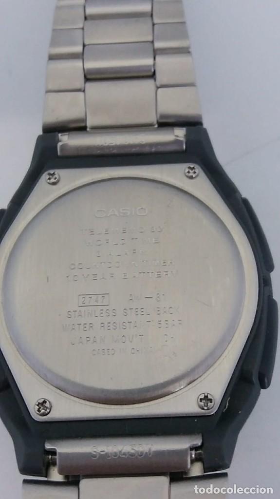 Relojes - Casio: CASIO AW-81 MAQUINA JAPAN. - Foto 6 - 236512680