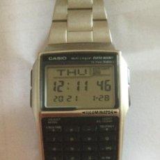 Relojes - Casio: RELOJ CASIO CALCULADORA MULTI LINGUAL DATA BANK 2888 DBC - 32. Lote 237661305