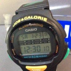 Relojes - Casio: RELOJ CASIO LJC 10 ¡¡ WORKOUT !! VINTAGE !!NUEVO!! (VER FOTOS). Lote 237755925