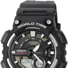 Relojes - Casio: RELOJ NUEVO CASIO AEQ-110W-1AVEF TELEMEMO 30 CRONÓMETRO. HOMBRE NUEVO A ESTRENAR. Lote 238644550