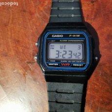 Relojes - Casio: RELOJ DE QUARTZ CASIO MODELO F 91 W FUNCIONANDO SEMI NUEVO. Lote 238855795