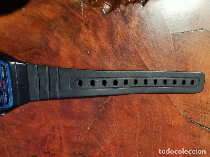 Relojes - Casio: RELOJ DE QUARTZ CASIO MODELO F 91 W FUNCIONANDO SEMI NUEVO - Foto 3 - 238855795