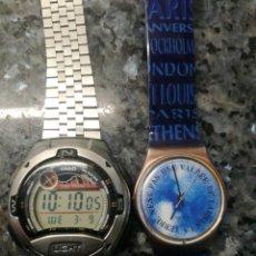 Relojes - Casio: CASIO W 753 Y SWATCH SARAJEVO. Lote 240078265