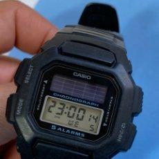 Montres - Casio: RELOJ CASIO SOLAR 5 ALARMAS QUARTZ. Lote 240220175