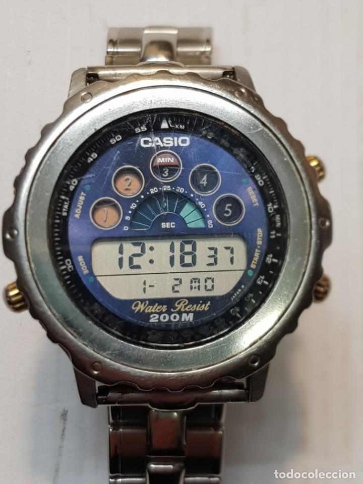 RELOJ CASIO DW-7000 WATER RESIST 200M FUNCIONANDO PERFECTAMENTE (Relojes - Relojes Actuales - Casio)