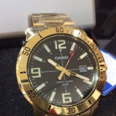 Relojes - Casio: RELOJ CASIO MTP VD 01 GOLD ¡¡NOVEDAD!! ¡¡NUEVO!! (VER FOTOS). Lote 241800620