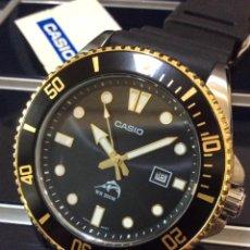 Relojes - Casio: RELOJ CASIO MDV 106 GOLD ( MARLIN - DURO ) ¡¡NUEVO!! (VER FOTOS). Lote 242875680