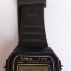 Relojes - Casio: RELOJ CASIO F-91 W WATER RESIST WR. VER FOTOS.. Lote 243574030