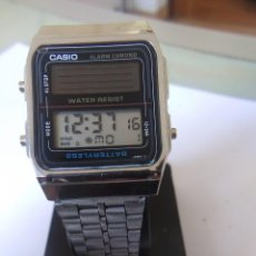 Relojes - Casio: RELOJ SOLAR CASIO AL- 180 MODULO 2188 MADE IN JAPAN. Lote 245012975