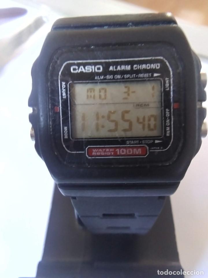 RELOJ CASIOW-721 MADE IN JAPAN MODULO 549 (Relojes - Relojes Actuales - Casio)