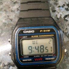 Relojes - Casio: CASIO F 91W. Lote 245351065