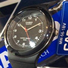 Relojes - Casio: RELOJ CASIO MW 56 ¡¡ SUPER - PRECIO !! VINTAGE ¡¡ AÑOS 90 !! - ¡¡¡¡NUEVO!!!!. Lote 114730355