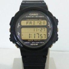 Relojes - Casio: RELOJ CASIO DBW-32 GOLD TELEMEMO. Lote 246057475