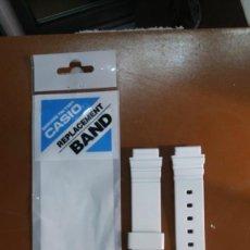 Relojes - Casio: CASIO LRW-200 CORREA BLANCA. Lote 246066170