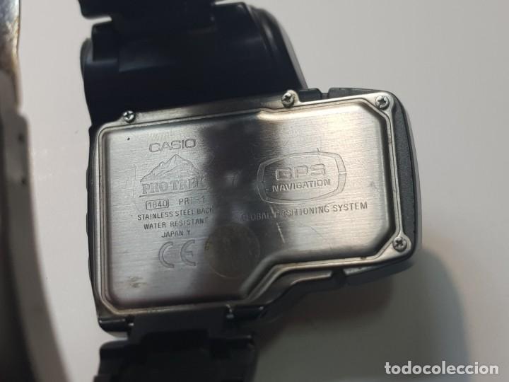 Relojes - Casio: Reloj Casio Pro Trek 1840 PRT-1 Global Positioning System escaso - Foto 3 - 246297960
