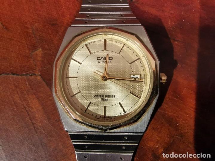 BONITO RELOJ CASIO EN ACERO QUARTZ - DE COLECCION (Relojes - Relojes Actuales - Casio)