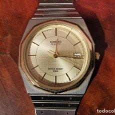 Relojes - Casio: BONITO RELOJ CASIO EN ACERO QUARTZ - DE COLECCION. Lote 247272375