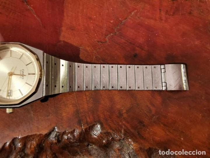 Relojes - Casio: BONITO RELOJ CASIO EN ACERO QUARTZ - DE COLECCION - Foto 4 - 247272375