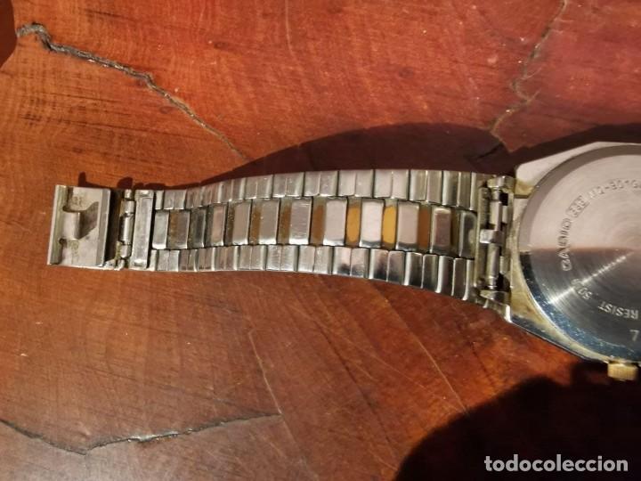 Relojes - Casio: BONITO RELOJ CASIO EN ACERO QUARTZ - DE COLECCION - Foto 7 - 247272375