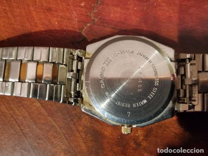 Relojes - Casio: BONITO RELOJ CASIO EN ACERO QUARTZ - DE COLECCION - Foto 8 - 247272375
