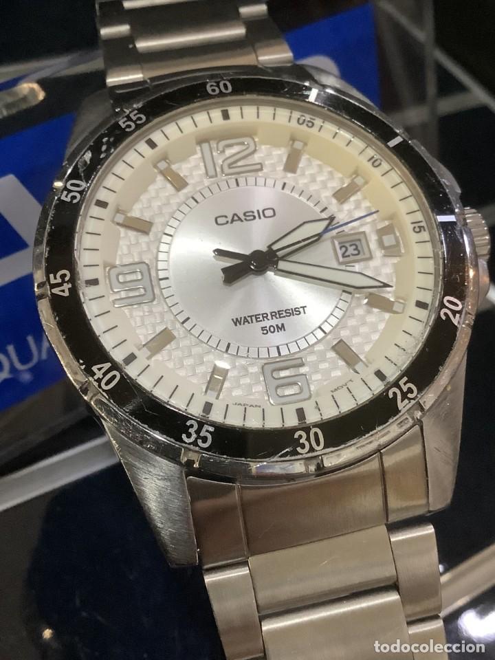 RELOJ CASIO MTP 1291 B - SPORT VINTAGE - (VER FOTOS) (Relojes - Relojes Actuales - Casio)