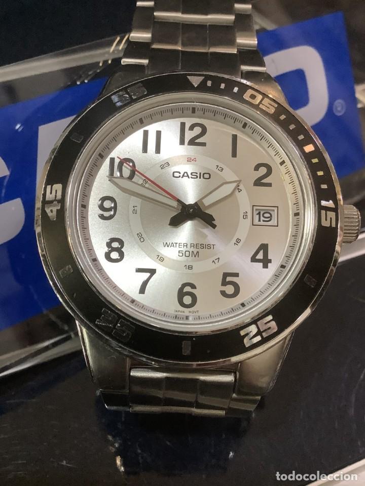 RELOJ CASIO MTP 1298 ¡¡ DIVER WHITE !! VINTAGE (VER FOTOS) (Relojes - Relojes Actuales - Casio)
